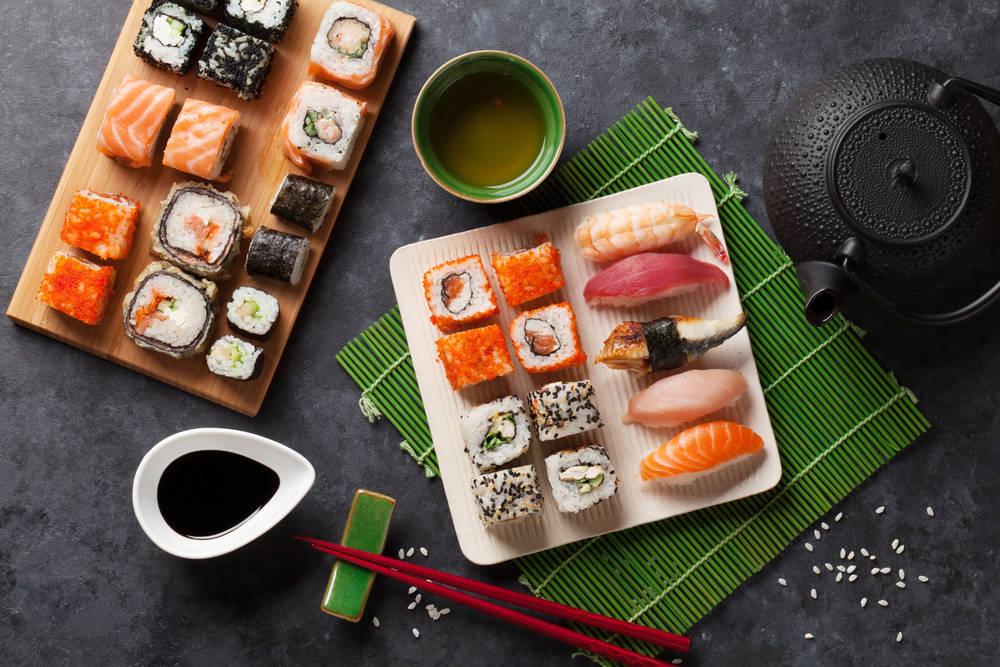Sushi de alta cocina