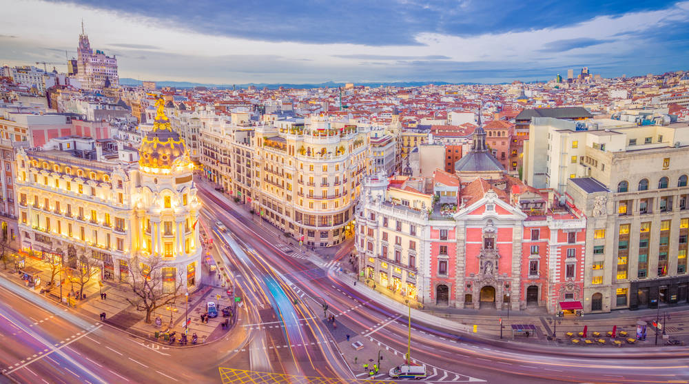 Madrid también tiene un color especial