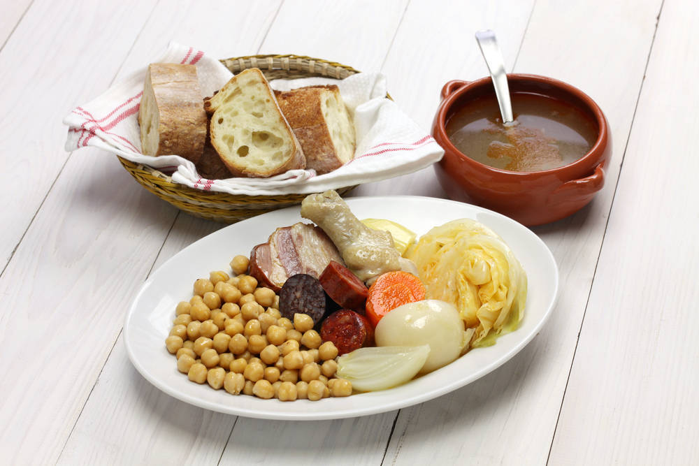 La comida típica madrileña